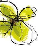 Green Butterfly Flower