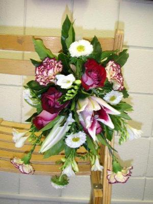 practice of wedding chair decoration
