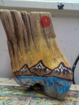 Mountain Stump