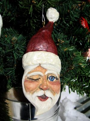 Santa Christmas Orniment