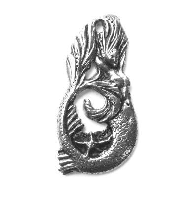 Mermaid Brooch / Pin by Liza Paizis original design
