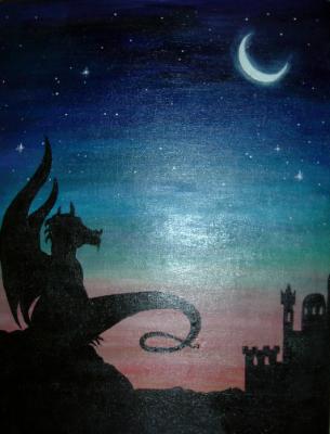Dragon Sunset
