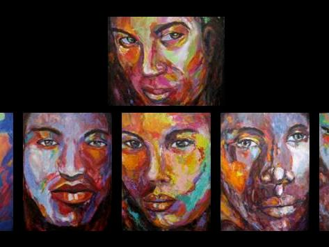 Mireille Des Rosiers - Contemporary Expressionist Art