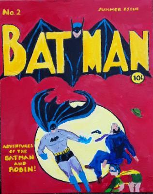 Batman Comic Cover No. 2 1940