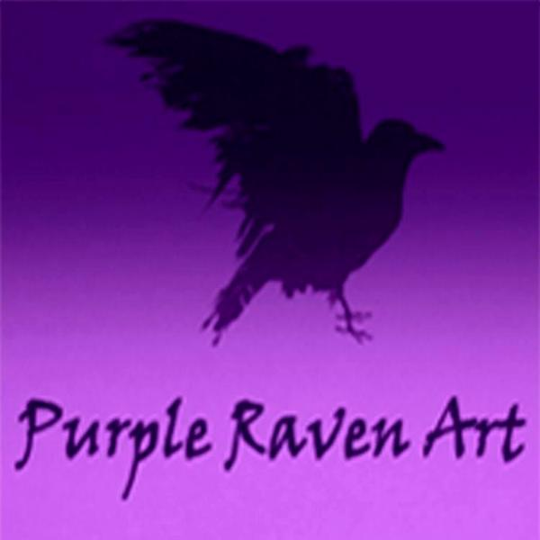 Purple Raven Art