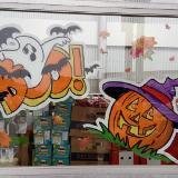 Fall & Halloween windows