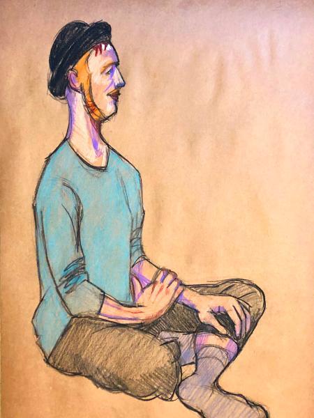 Ira, Seated Figure