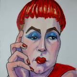 Redheaded Woman