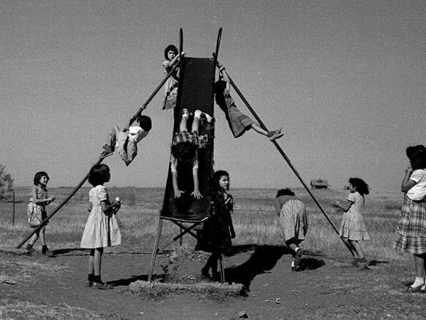 Girls on a Slide by Arthur Lavine