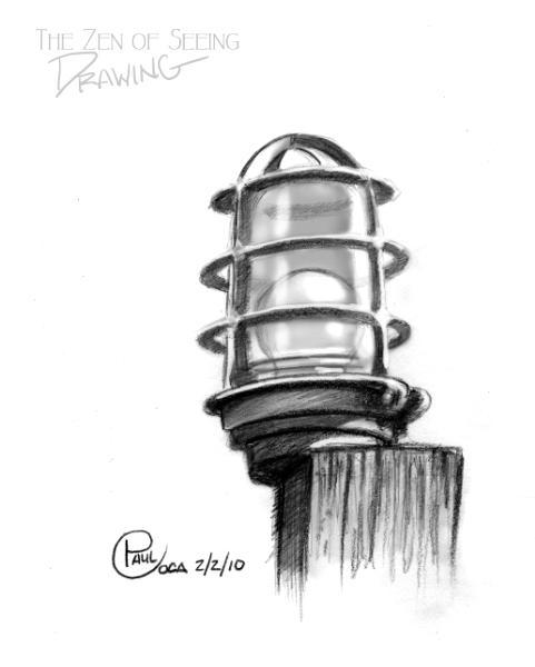 The Zen of Seeing a Marina Light