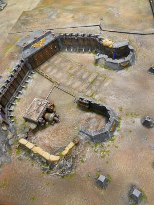 """Forge World """"Realm of battle IMPERIAL STRONGPOINT board"""""""