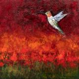 Pristas Hummingbird & Bluebird Paintings