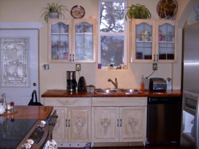 refurbished kitchen cabinets