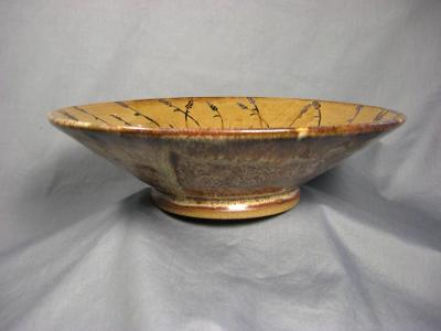 110228.E Carved Bowl
