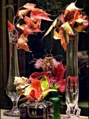 Autumn Leaf Bouquets