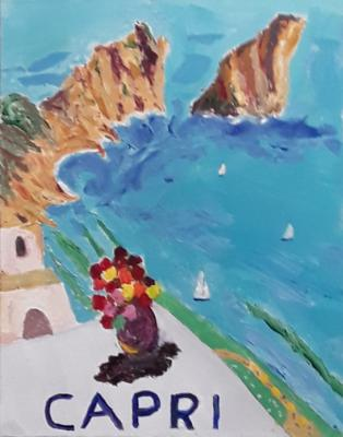 Capri Travel Poster