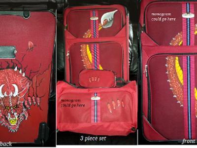 Red dragon 3 piece set