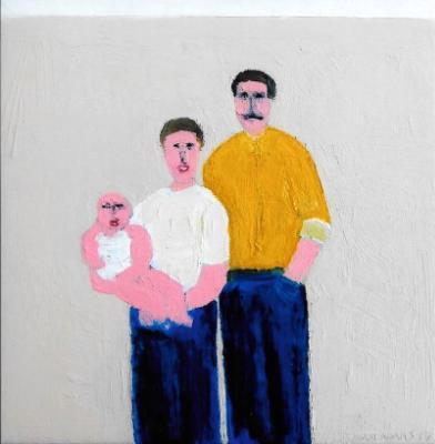 """""""Self Portrait with Parents"""""""""""