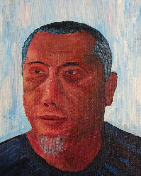 Self-portrait #4 color me recovering