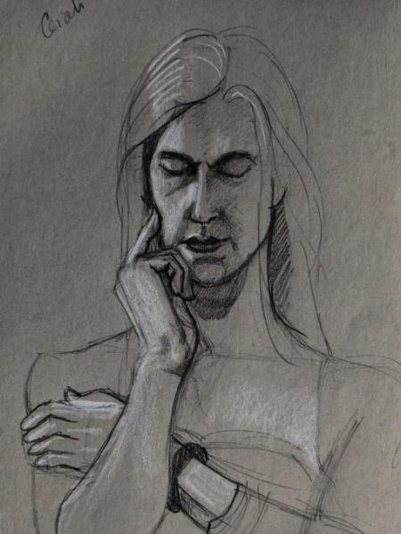 Cerah, Pensive