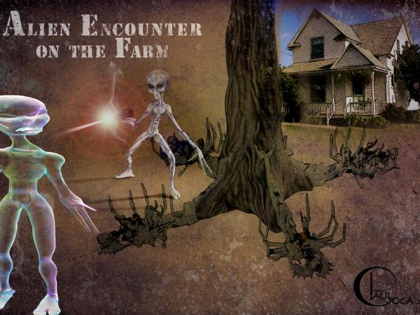Alien Encounter on the Farm