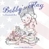 Bobby's Flag (American Flag) By Elisabeth Bell