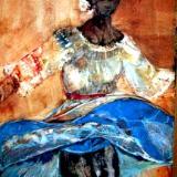BRAZILIAN DANCER  Sold