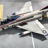 VMFP-3 RF-4B Phantom II BuNo 153101 Model kit Build
