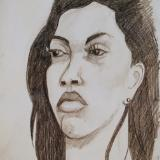 Melissa Charcoal Head Study