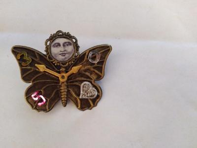 Wise Butterfly brooch