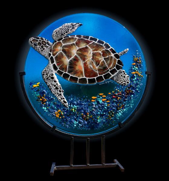 Unique Fused Glass, Darlene Ferguson of Ferguson Graphics, Inc.