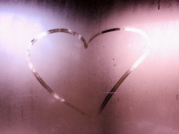 Heart on a Misty Window
