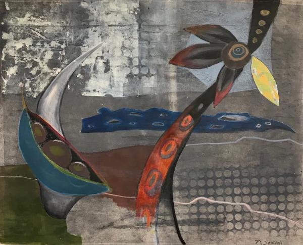Noël Sandino- Contemporary Abstracts and Fine Art printmaking