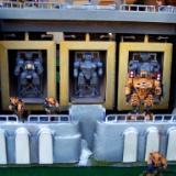 Tau battle suits  during costruction