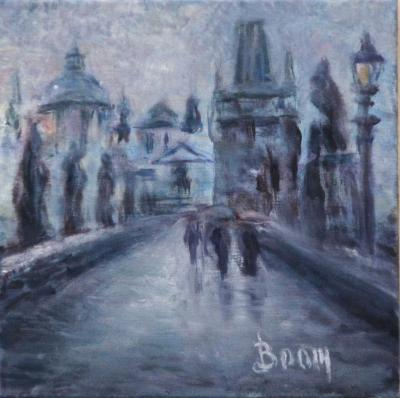 Charles Bridge Study - SOLD