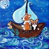 Corgis by the Sea  10% Donated to Corgi help groups
