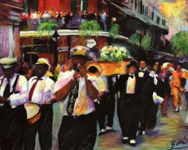 Jazz funeral part 1