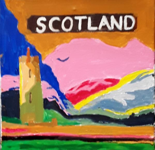 Scottish Travel Poster