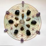 Watercolor Crystal Grid Sets