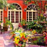 Courtyard by Le petite Theater