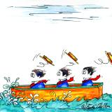 Three Men in a Boat # 4: Gusty Winds