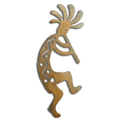 Flute Kokopelli Right - Available in four sizes.  See description.