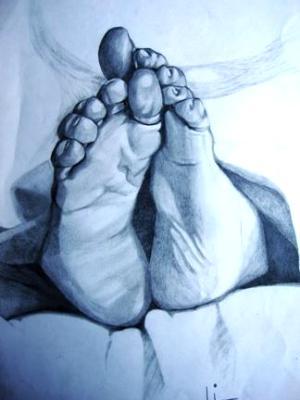 Feet - Pencil