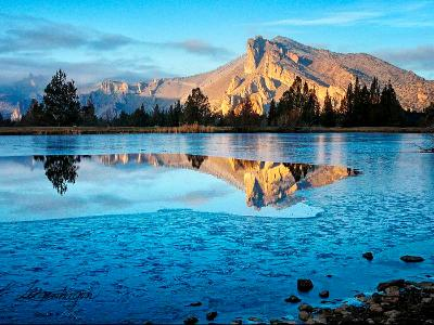 The Blue Pond