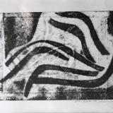 Monotype, Monoprints, Mix-media
