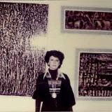 1st PERSONAL ART EXHIBITION  1977