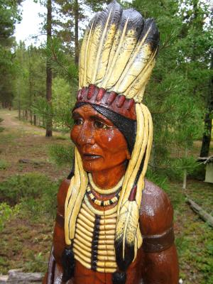 Cigar Store indian 2
