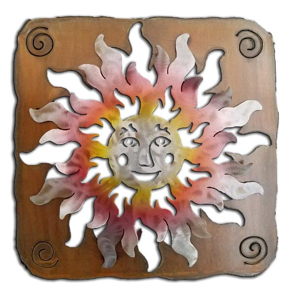 Happy Face Sun - Available in four sizes.  See description