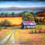 Brandenburg barn 16x20 canvas in oil