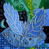Tree paintings and Leaf series
